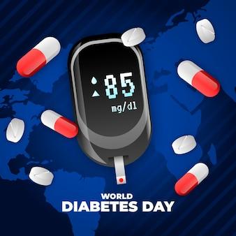 Realistyczny światowy dzień cukrzycy