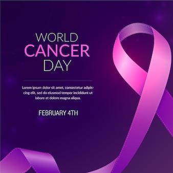 Realistyczny światowy dzień walki z rakiem