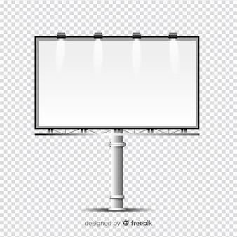 Realistyczny szablon billboardu