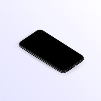 Realistyczny szablon smartfona