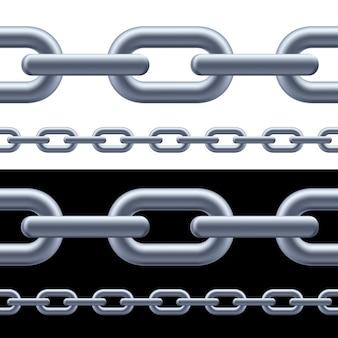 Realistyczny szary łańcuch