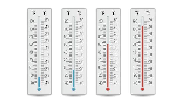 Realistyczny termometr meteorologiczny