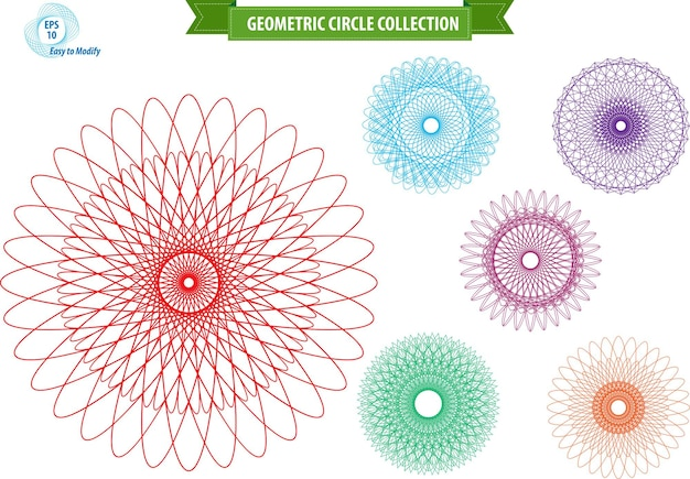 Realistyczny wzór geometryczny ornament prezent logo szablon geometryczna linia sztuki łapacz snów