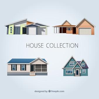 Realistyczny zestaw dom