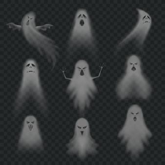 Realistyczny zestaw duchów