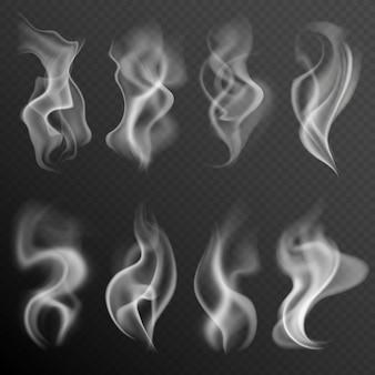 Realistyczny zestaw dymu