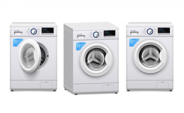 Realistyczny zestaw pralki