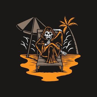 Reaper chill w lato