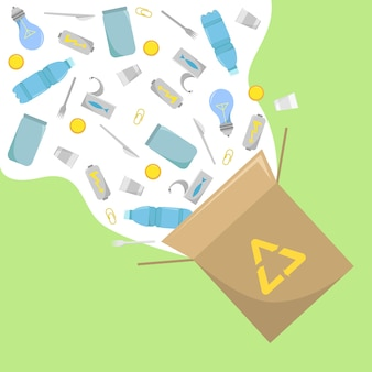 Recykling odpadów. ekologiczny biznes przyjazny dla środowiska