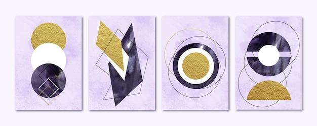 Ręcznie malowana kolekcja okładek sztuki abstrakcyjnej