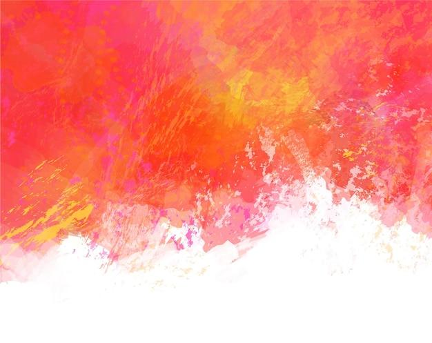 Ręcznie malowane abstrakcyjne kolorowe plamy akwarelowe tło cyfrowy obraz
