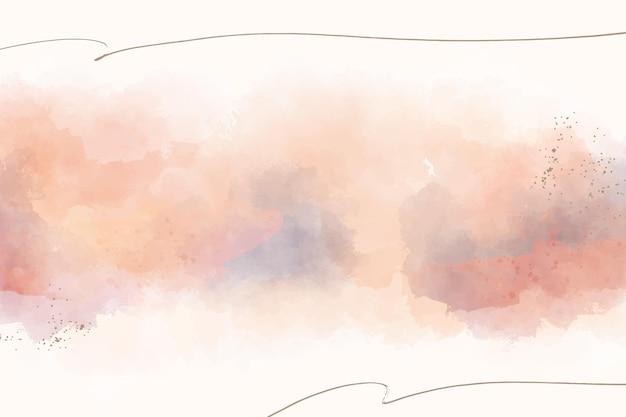 Ręcznie malowane abstrakcyjne tło w akwareli