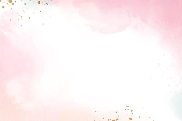 Ręcznie malowane akwarela abstrakcyjne tło akwarela