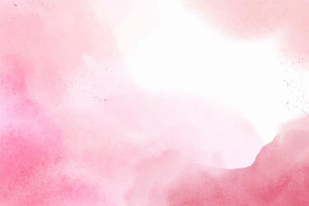 Ręcznie malowane akwarelowe różowe tło