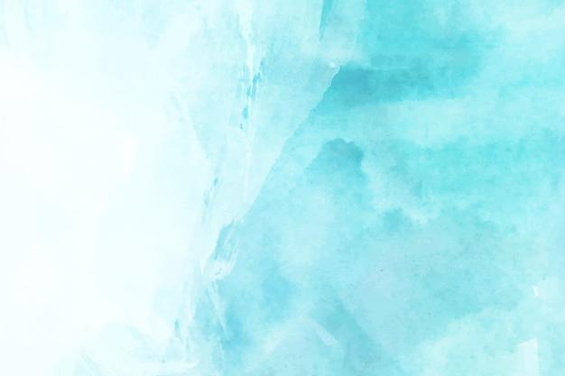 Ręcznie malowane niebieskie tło