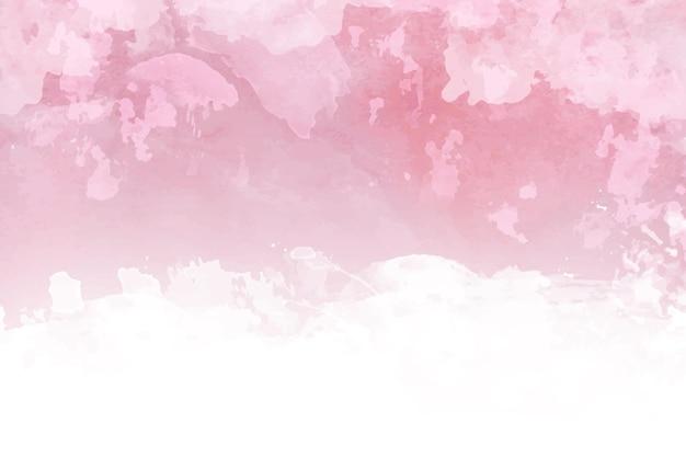 Ręcznie malowane różowe tło