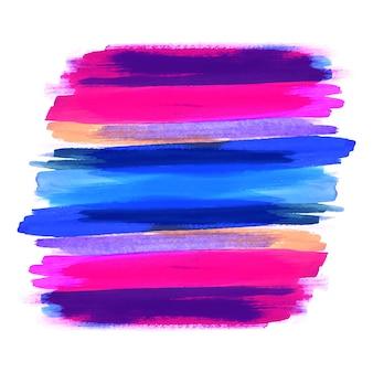 Ręcznie narysować kolorowy akwarela obrysu wzór tła