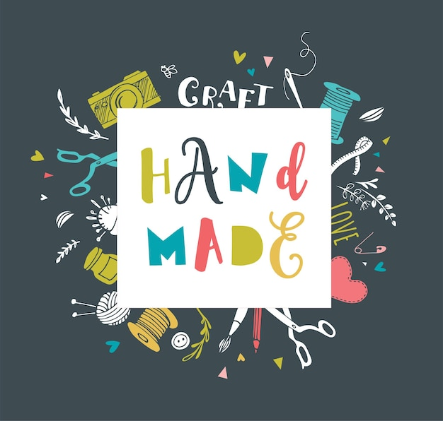 Ręcznie robione, warsztaty rzemieślnicze, targi sztuki i plakat festiwalowy
