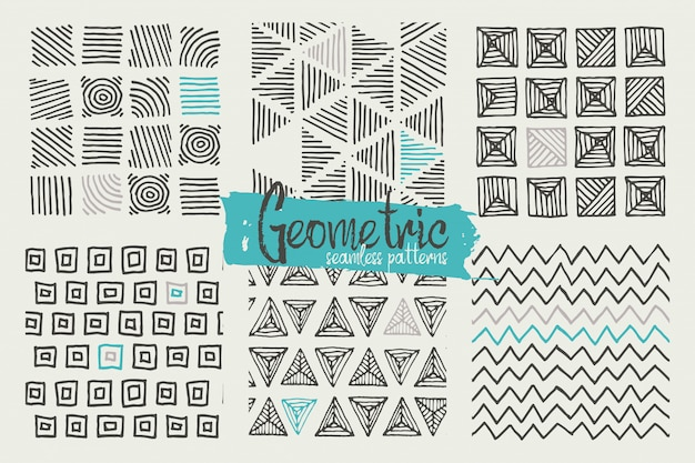 Ręcznie robione wzory geometryczne