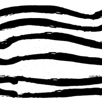 Ręcznie rysowane czarno-biały wzór w stylu grunge.