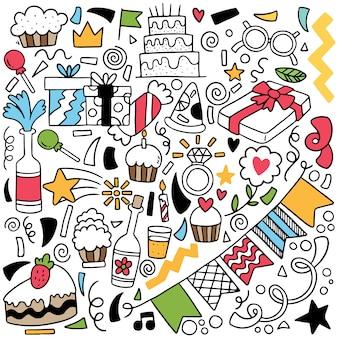 Ręcznie rysowane doodle strony