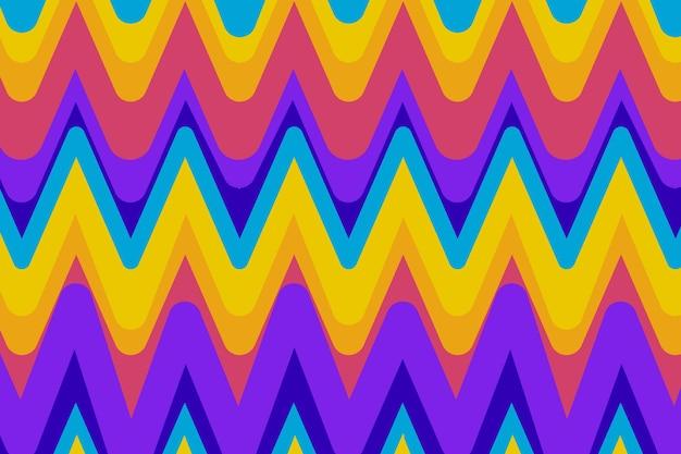 Ręcznie rysowane groovy wzór