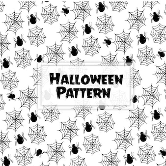 Ręcznie rysowane halloween w tle