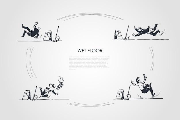Ręcznie rysowane ilustracja na białym tle