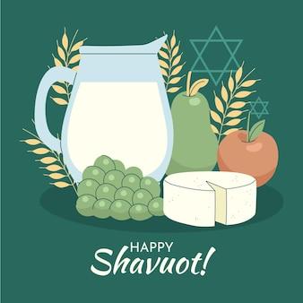Ręcznie rysowane ilustracja shavout