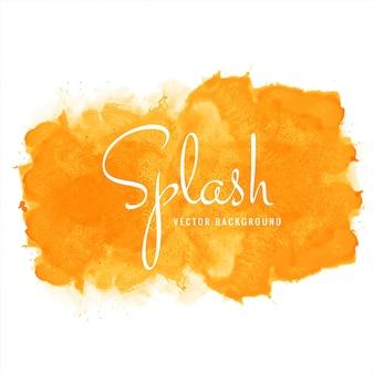 Ręcznie rysowane kolorowy miękki projekt akwarela splash