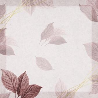 Ręcznie rysowane liść wiśni
