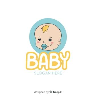 Ręcznie rysowane logo dla niemowląt