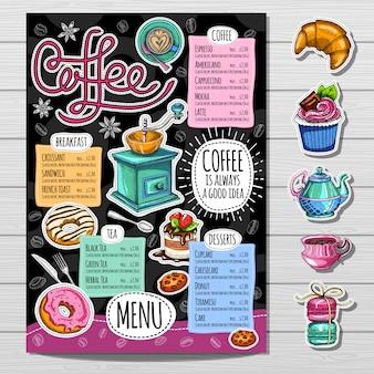 Ręcznie rysowane menu