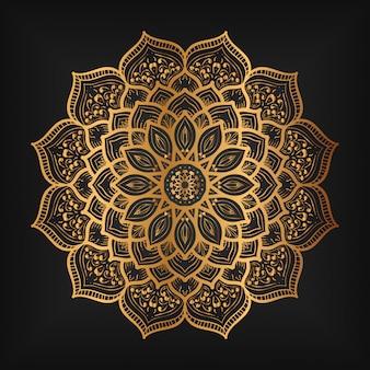 Ręcznie rysowane orientalnej mandali