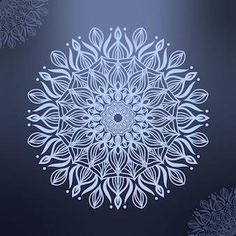 Ręcznie rysowane ozdobnych mandali
