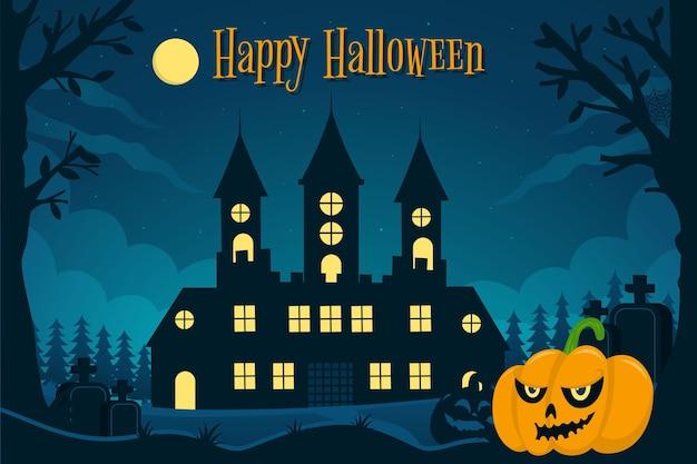 Ręcznie rysowane tapety halloween