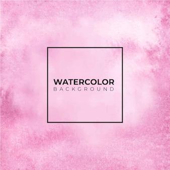 Ręcznie rysowane tła akwarela w kolorze różowym. papier akwarelowy.