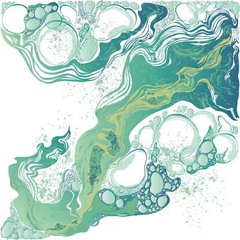 Ręcznie rysowane wektor marmur abstrakcyjne tło