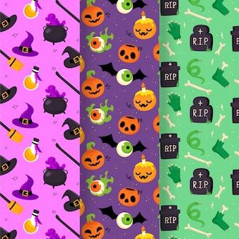 Ręcznie rysowane wzór halloween
