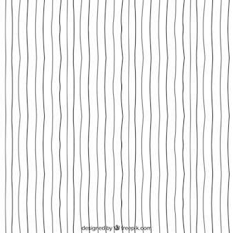 Ręcznie rysowane wzór linii