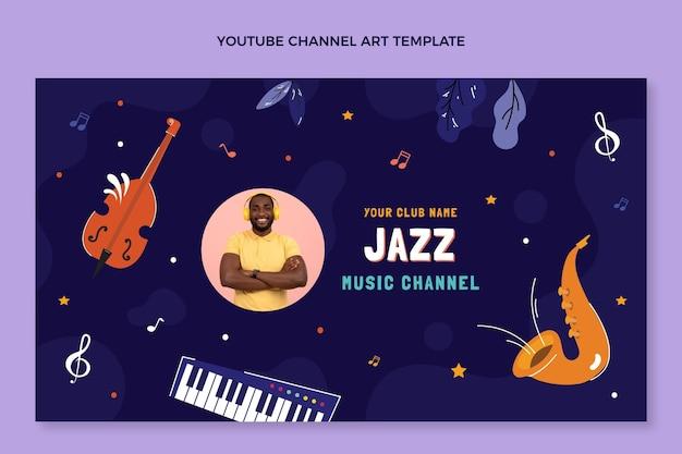 Ręcznie rysowany kanał festiwalu muzycznego na youtube