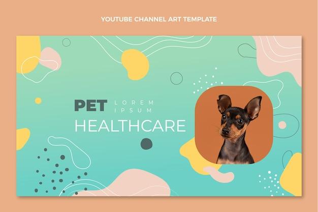 Ręcznie rysowany medyczny kanał youtube