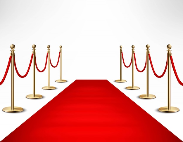 Red carpet celebrity formal banner banner