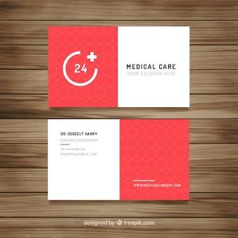 Red nowoczesny karta medyczna