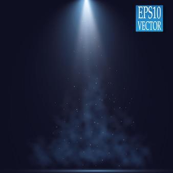 Reflektory. efekty świetlne sceny. efekt świetlny blasku.