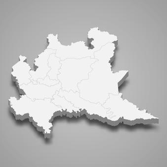 Region mapa włoch
