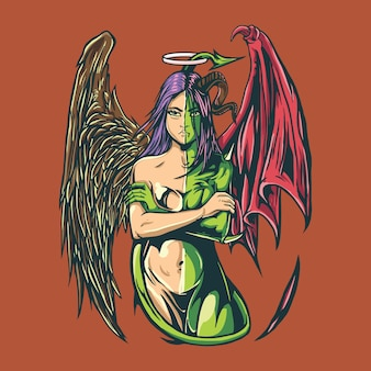 Ręka anioła i demonów