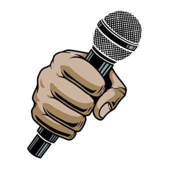 Ręka mikrofonu