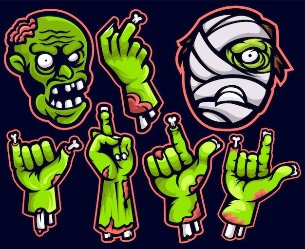 Ręka zombie pack