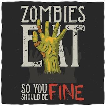 Ręka zombie